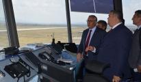 Ateş Kapadokya Havalimanı'nı gezdi