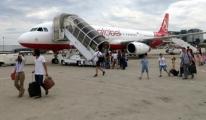Atlas Global 'a ait yolcu uçağı Bursa'ya indi