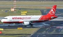 AtlasGlobal Uçağı İstanbul havalimanı'na acil iniş yaptı!