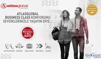 Atlasglobal,Business Class bilet alana ikincisi hediye!