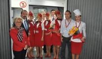 Atlasglobal'in Amsterdam ve Bişkek Uçuşları Başladı