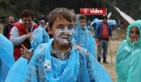 Ayder Yaylasında pasta savaşı