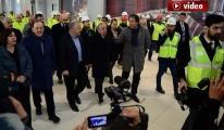 Bakan Arslan 3. Havalimanı inşaatını gezdi