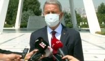 Bakan Akar, Kabil Havalimanı'nın işletilmesine yönelik soruları yanıtladı