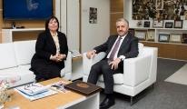 Bakan Arslan, Ocak'ı makamında ziyaret etti