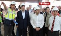 Bakan Cevdet Yılmaz, Yeni Havalimanı Terminalini video