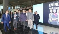 Bakan Ersoy İstanbul Havalimanı'nı gezdi!