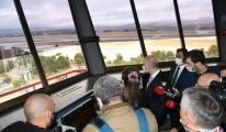 Bakan, Hava Trafik Kontrol Merkezi Ziyaret etti(video)