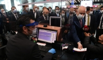 Bakan İstanbul Havalimanı'ndan Ankara'ya gitti