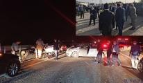 Bakan Karaismailoğlu'nun konvoyunda zincirleme kaza
