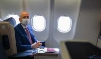 Bakan Karaismailoğlu: Uçak yolculuğunda tüm tedbirler alındı