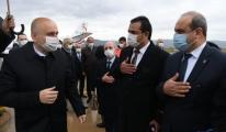 Bakan Karaismailoğlu,Akhisar Askeri Hava Limanı'na geldi.