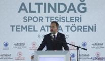 Bakan Kasapoğlu: Ankaramız sporun da başkenti olacak