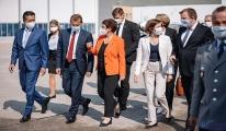 Bakanlar Manching'deki Airbus tesislerini ziyaret etti