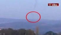 Balıkesir'in Ayvalık ilçesinde uçak düştü iddiası!video