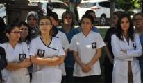 Balıkesir'de doktorlardan sağlıkta şiddete tepki