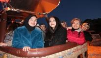 Balon turu hayalleri, Kadınlar Günü'nde gerçek oldu