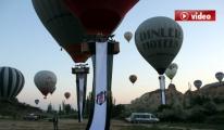 Balonlar Beşiktaş'ın şampiyonluğu için havalandı