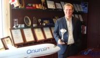 Başarılı ihracatçı ödülü Onur Air'in!