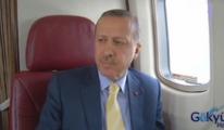 Başbakan 3.havalimanı alanını havadan inceledi