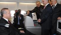 Başbakan Erdoğan'ı Hamdi Topçu karşıladı