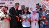 Başbakan Kastamonu Havaalanı'nın açılışını yaptı.