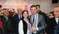 Başkan Ekrem İmamoğlu, babası Hasan İmamoğlu moral depoladı.