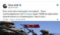 Başkan Erdoğan yeni askerlik sistemi yasasını onayladı