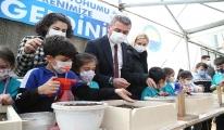 Başkan Ramazan Şimşek ile Minik Eller Toprağa Can Verdi(video)