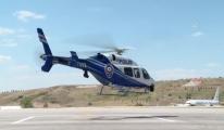 Başkentte helikopterle trafik denetimi yapıldı