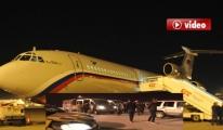 Batan Rus gemisinin mürettebatı için uçak geldi