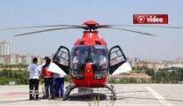 Bebek, Helikopterle Gaziantep'e Getirildi