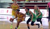 Bellona Kayseri Basketbol - İzmit Belediyespor: 68-69