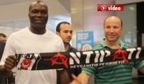 Beşiktaş'ın Yeni Transferi Aboubakar, İstanbul'a Geldi