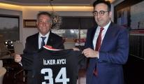 Beşiktaş Kulübü Başkanı THY ziyaret etti