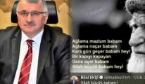 Bilal Ekşi 'Kara Gün Geçer Babam' Demişti