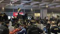 Binlerce Fenerbahçeli, Sabiha Gökçen Havalimanı'nda#video