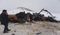 Bitlis'in Tatvan İlçesi'nde helikopter düştü!
