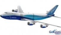 Boeing 747-8F ilk uçuşunu  gerçekleştirdi