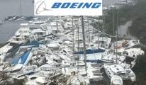 Boeing'ten 1 milyon dolar yardım