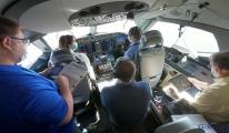 Boeing Üçüncü için üçüncü test uçuşu 777X(video)
