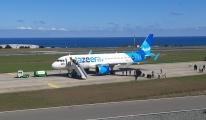 Uçak Trabzon Havalimanı'na acil iniş yaptı #video