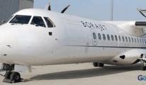 Bora Jet'e ait uçağın motorunda arıza çıktı.