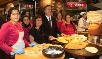 BTA, Amasya Köy Sofrasını Atatürk Havalimanına Taşıdı
