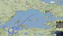 Bu uçak Marmara'nın güneyinde neden dolaştı?