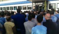 Bursa'da işçiler işbaşı yapmadı