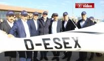 Bursa Valisi Küçük , 'Türk Kartalı'nı inceledi