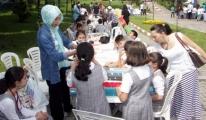 Bursa'da öğrenciler gökyüzü ve uzayı tanıyor.