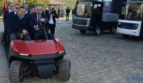 Bursa'da %100 elektrikli TRAGGER Araçları