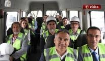 Bursalı gazeteciler 3. havalimanı'nda! video